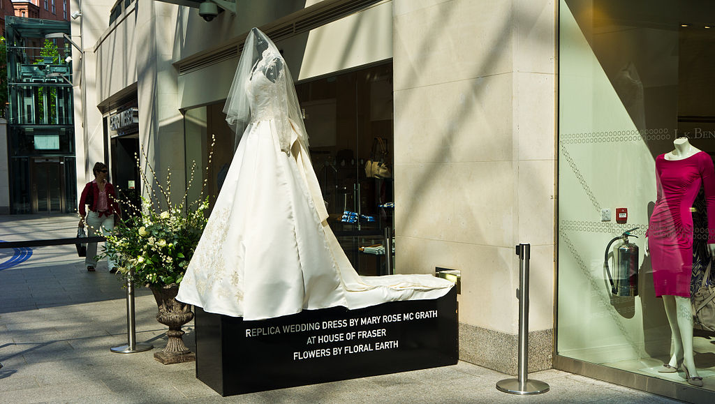 Kate Middleton Brautkleid | Foto: William Murphy / flickr